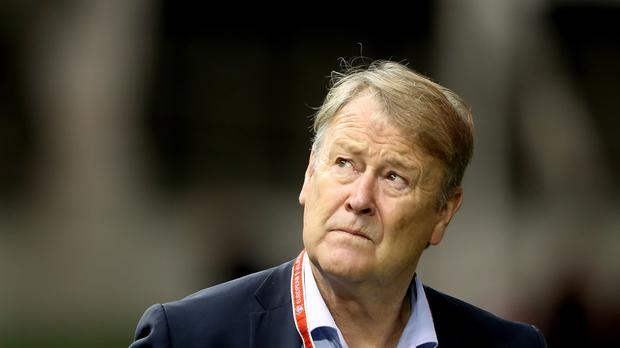 Denmark head coach Age Hareide saw his side draw 1-1 with Australia (Niall Carson/PA)