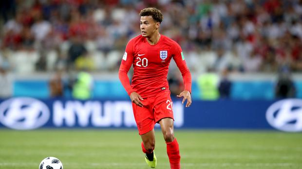 Dele Alli is unlikely to face Panama after picking up an injury (Adam Davy/PA)