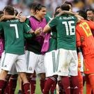 Mexico produced a fine display to see off Germany (Adam Davy/Empics)