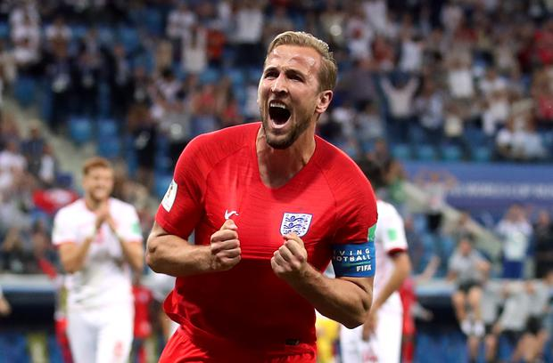 Harry Kane scored twice in England's opening World Cup victory against Tunisia. Photo: Adam Davy/PA