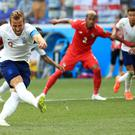 Harry Kane scores his first penalty against Panama (Adam Davy/PA)
