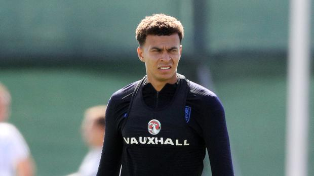 Dele Alli trained with his team-mates on Monday morning (Owen Humphreys/PA)