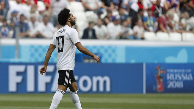 Mohamed Salah's Egypt lost again (Darko Vojinovic/AP)