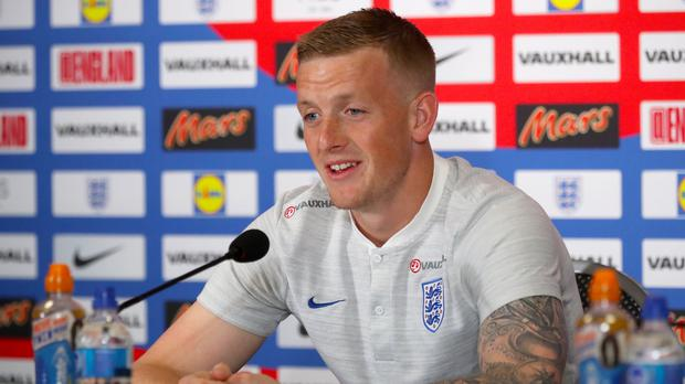 Jordan Pickford is England's number one (Owen Humphreys/PA)