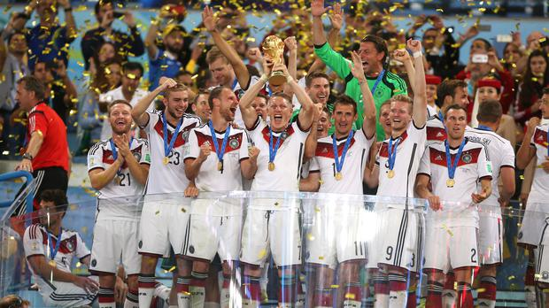 Germany continued the trend of winning the World Cup after progressing top of their group. (Mike Egerton/PA Images)