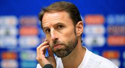 England boss Gareth Southgate tipped to make eight changes for Belgium clash (Adam Davy/PA)