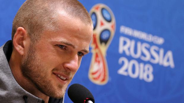 Eric Dier, pictured, reckons there is more to come from Harry Kane (Owen Humphreys/PA)