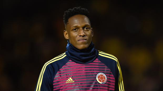 Yerry Mina headed the only goal in Colombia's win against Senegal (Adam Holt/EMPICS)