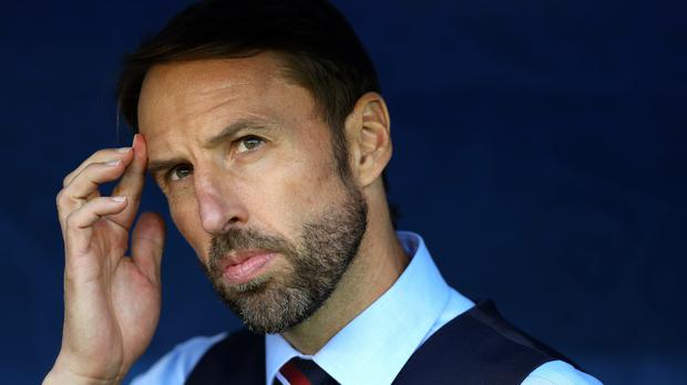 Gareth Southgate so his much-changed team beaten by Belgium (Aaron Chown/PA)
