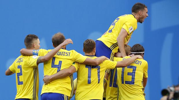 Sweden have a couple of injury worries ahead of their quarter-final against England (Credit: Darko Bandic/AP).