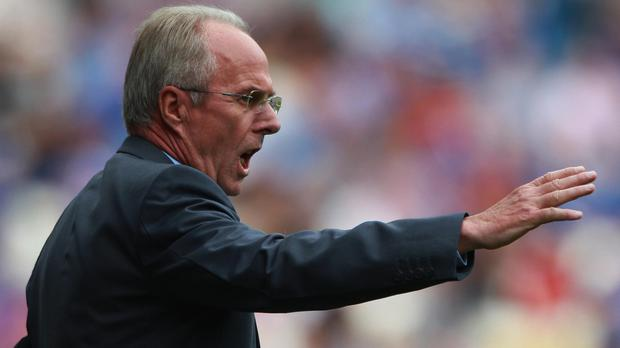 Sven-Goran Eriksson guided England to two World Cup quarter-finals (Nick Potts/PA)