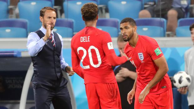 Gareth Southgate, left, is desperate to get the best out of Dele Alli (Owen Humphreys/PA)