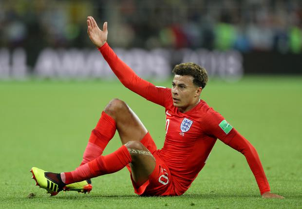 Dele Alli has had a limited impact at the World Cup (Owen Humphreys/PA)