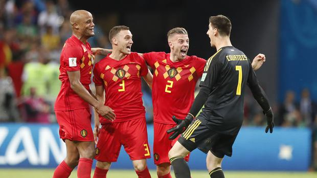 Belgium will face France in the World Cup semi-finals (Frank Augstein/AP)