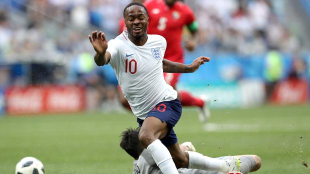 dad00c4cb24 Gareth Southgate defends Raheem Sterling ahead of England s World ...
