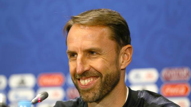 England manager Gareth Southgate during the press conference at the Luzhniki Stadium, Moscow (Aaron Chown/PA)