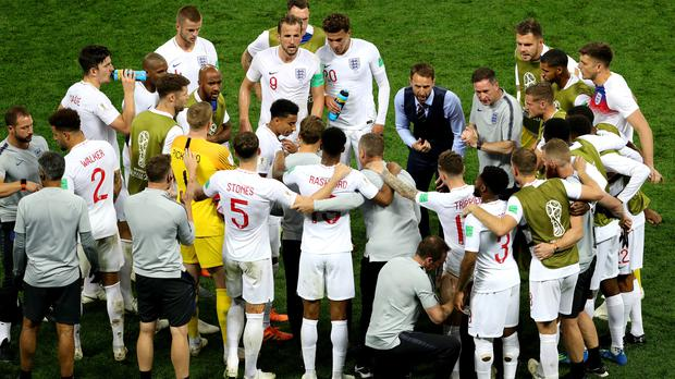 England bowed out at the hands of Croatia (Aaron Chown/PA)