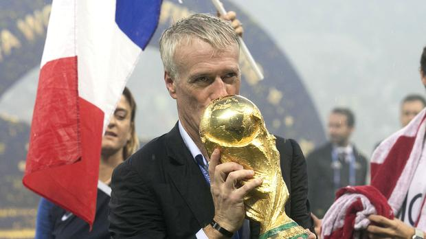 Image result for France's World Cup-winning boss Didier Deschamps
