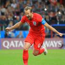 England's Harry Kane finished as the tournament's top scorer (Adam Davy/PA)