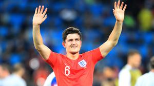 Harry Maguire was singled out for praise following his performance against Colombia on Tuesday night. (Adam Davy/PA)