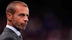 UEFA president Aleksander Ceferin is against the proposed move of making World Cups biennial. Photo: Reuters