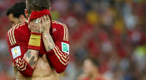 Spain's recent domination of international football came to an end after their World Cup elimination at the hands of Chile