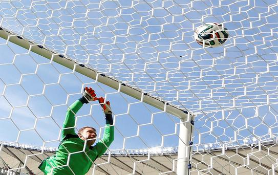 """""""The goalkeeper always starts again at nil,"""" says Germany's Manuel Neuer, """"even when you're 2-0 down"""""""