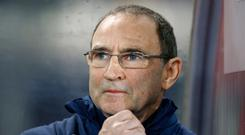 Team boss Martin O'Neill. Photo: Reuters
