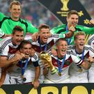 Favourites: Germany win the World Cup against Argentina in 2014
