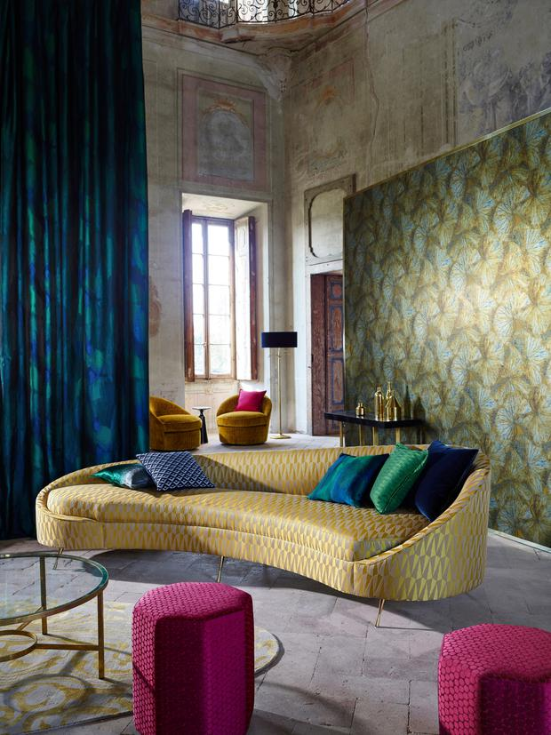Soft furnishings trends for independent native Zoffany2017_TheMuse_01_ER.jpg
