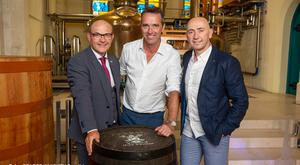 Pictured at the launch are Gearoid Cahill, Head Distiller, Pearse Lyons Distillery, Kevin Dundon, SuperValu Brand Ambassador, and Donagh McClafferty, Off-Licence Category Manager, Musgraves. Photos: Bryan J Brophy/1IMAGE Photography