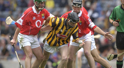 Kilkenny's Michael Fennelly in action against Cork as a minor. Photo: Ray McManus