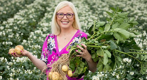 TV Dietitian and National Potato Day Ambassador, Aoife Hearne