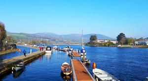 Killaloe is based on the banks of the Shannon