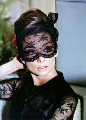 Audrey Hepburn's mask in How to Steal a Million was designed by Hubert Givenchy