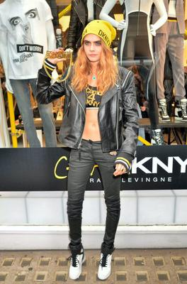 Cara Delevingne launches her DKNY collection