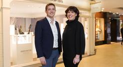 Ann Chapman and Michael O'Dwyer of Stonechat Jewellers