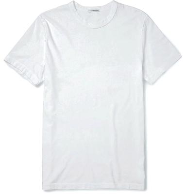 no.9 - The White Tee. Whether you wear it like Beckham and layer it under a shirt, or simply work it on it's own, you need a white tee in your wardrobe. Logo free, a neat fit and good quality cotton is best.