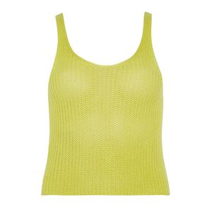 (6) Yellow knit cami (€6, Penney's)