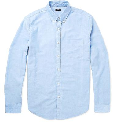 no.11 - The Blue Shirt. An essential workwear item, there's not much that won't go with a blue shirt. Wear with a beige, navy, burgundy or grey suit, or in your down time with jeans or slim pants.
