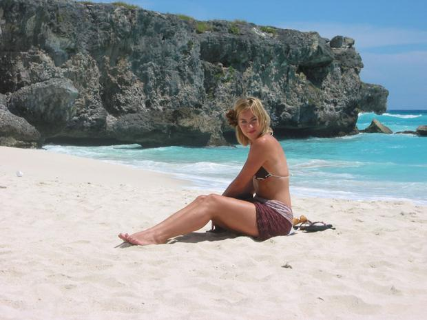 Kathryn Thomas in Barbados for 'No Frontiers'