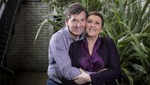 Daniel O'Donnell and his wife Majella. Photo: Mark Condren