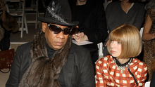 Fashion faux pas: Andre Leon Talley (left) is highly critical of Vogue Editor-in-Chief Anna Wintour in his new autobiography. Photo: Getty Images for IMG