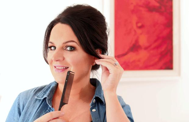 Triona McCarthy divulges the secrets on achieving fabulous hair at home. Pic Gerry Mooney.