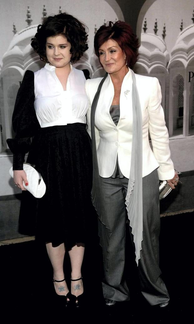 Daughter-and-mum duo: Kelly and Sharon Osbourne