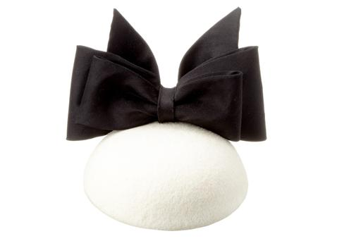 Cocktail bow hat, €260, Aoife Kirwan, Arnotts