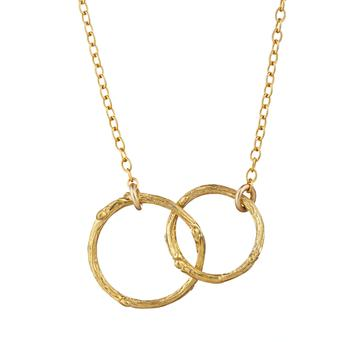 Just The Two Of Us necklace, €129, Chupi, see weirandsons.ie
