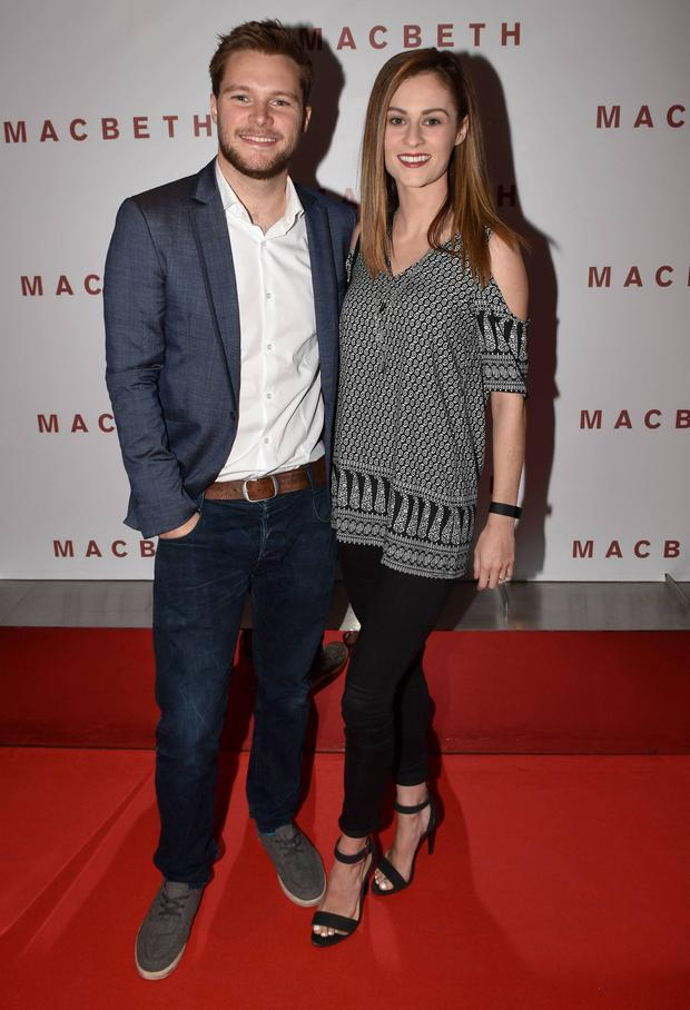Jack Reynor and Madeline Mulqueen.