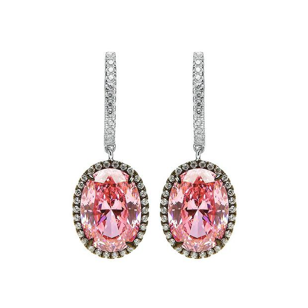 Earrings, €149, Lauryn Rose, for stockists, see laurynrose.com