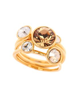 Jewel stacking ring, €59, Ted Baker. Stockists include Keanes Jewellers Cork, see keanes.ie; for further stockists, see timemark.ie